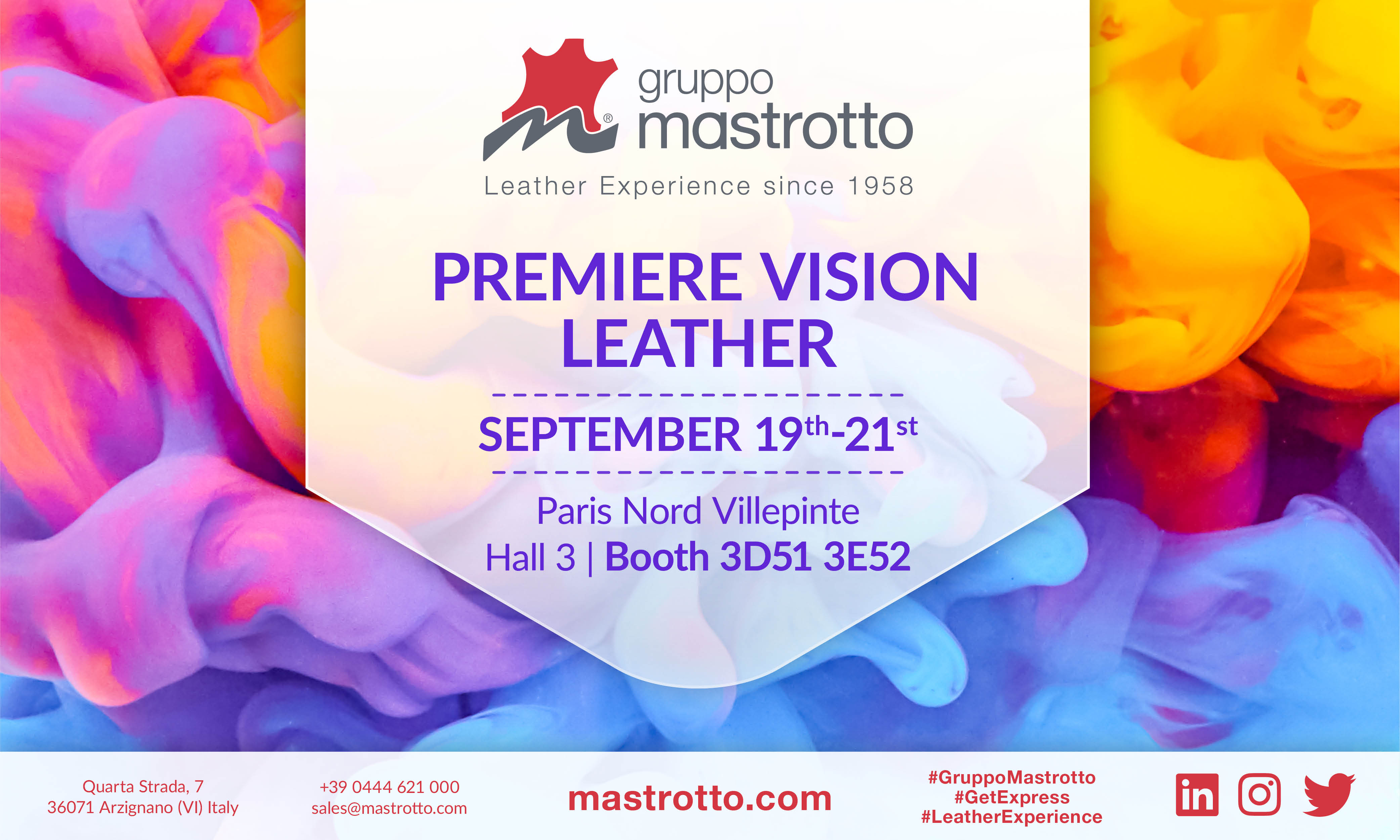 Mastrotto Premiere Vision Leather September 19th-21th2017