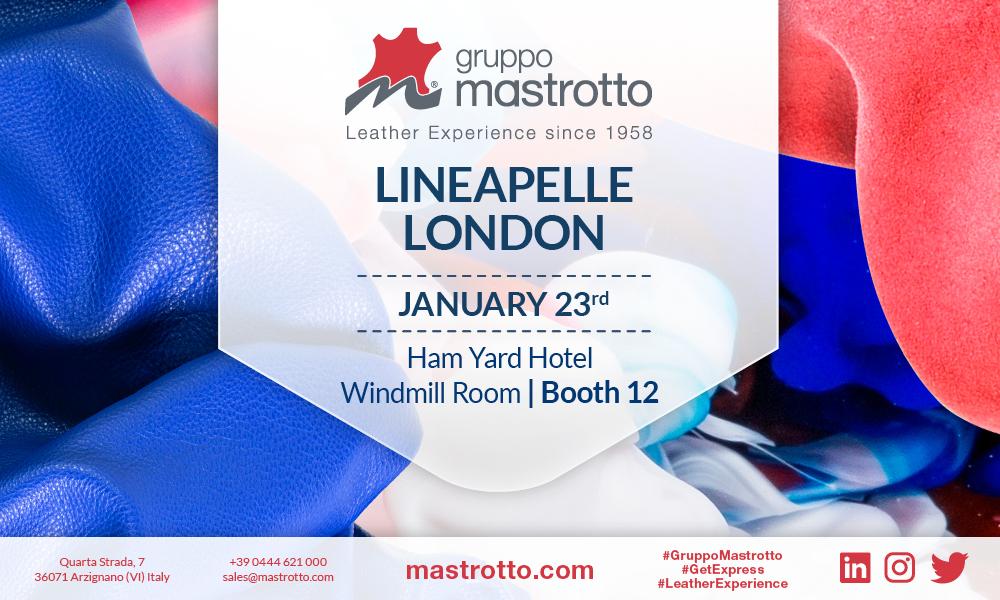 Gruppo Mastrotto Lineapelle Londra 2018