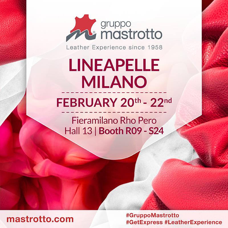 Gruppo Mastrotto Lineapelle Milano 2018