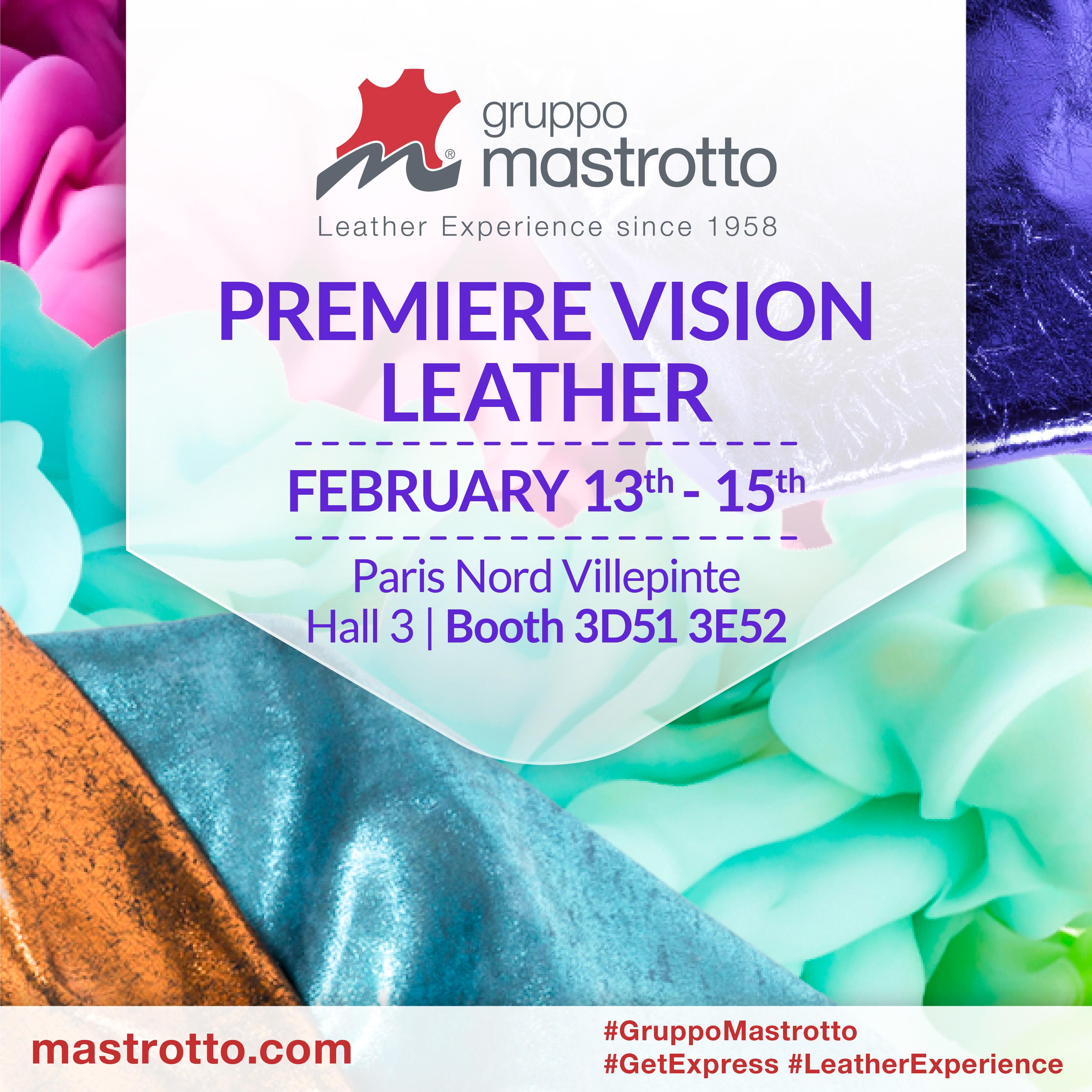 Gruppo Mastrotto Premiere Vision 2018