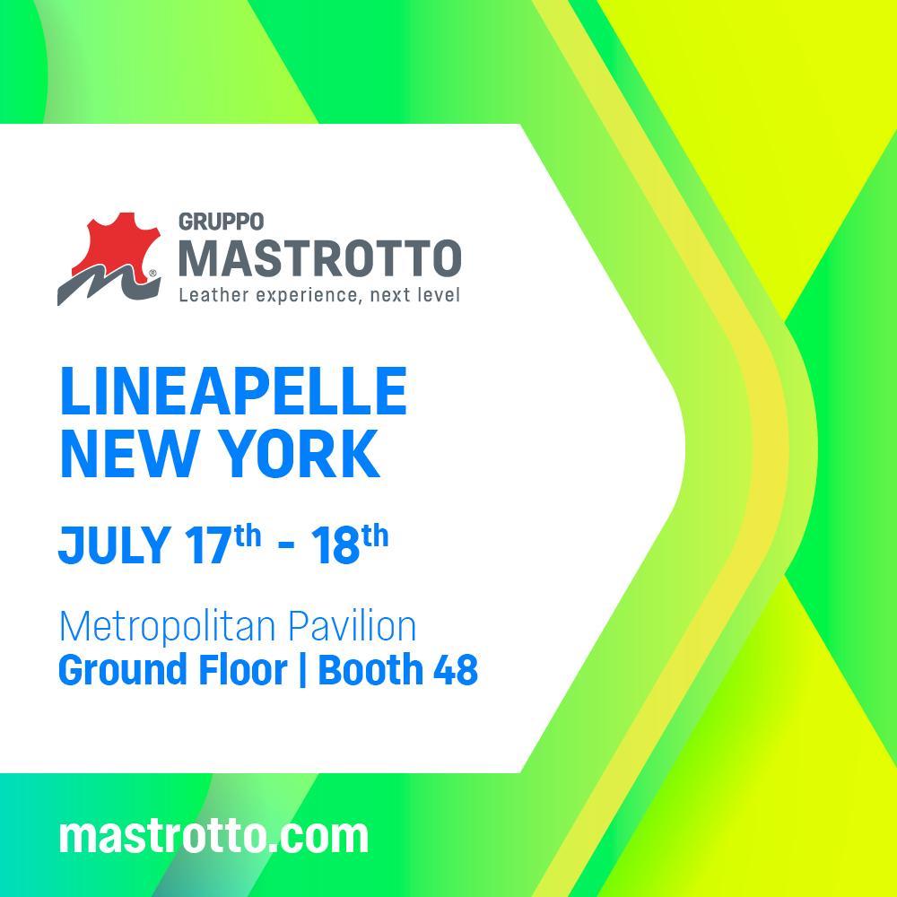 Gruppo Mastrotto Lineapelle New York Luglio